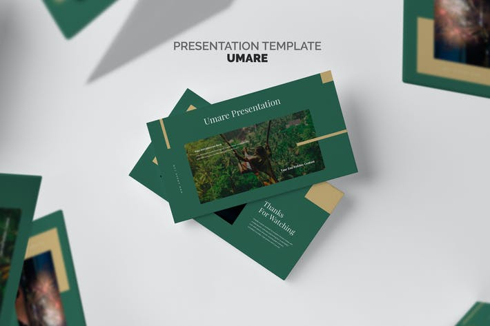 Thumbnail for Umare : Year End Vacation Promo Google Slides