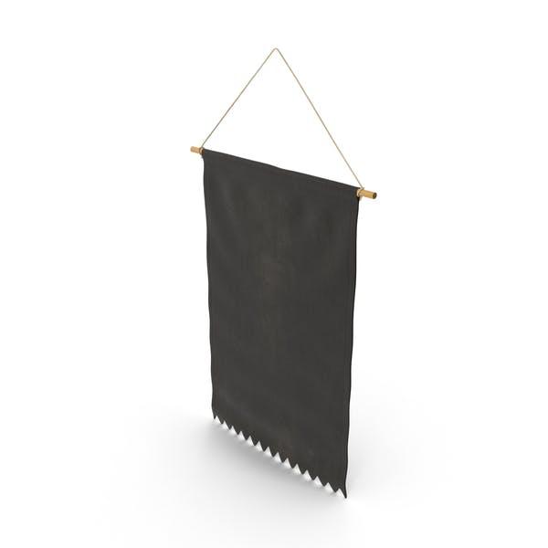 Thumbnail for Banner zum Aufhängen, Schwarz