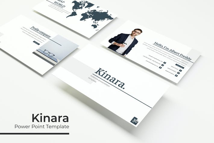 Thumbnail for Kinara - Powerpoint Template