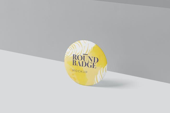 Thumbnail for Round Badge Mockups