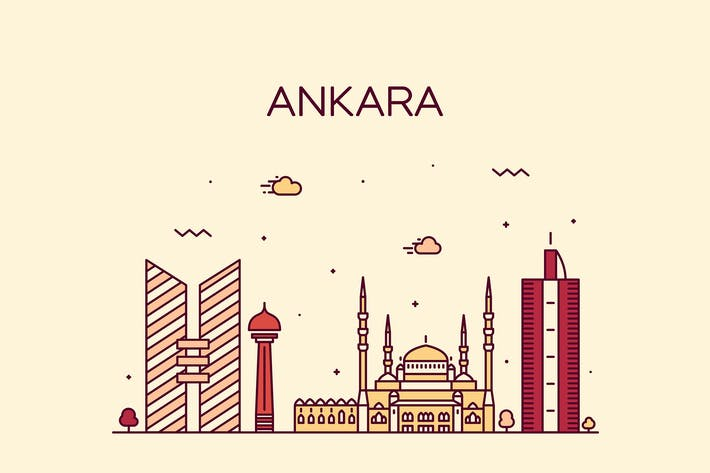 Thumbnail for Ankara skyline, Turkey