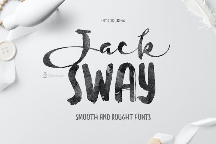 Thumbnail for JackSway Font