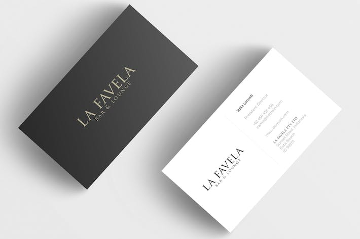 Thumbnail for Minimal Business Card - Restaurant