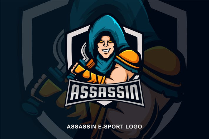 Thumbnail for Assassin E-sport Logo