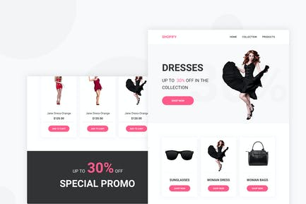 Shopify - Email Newsletter