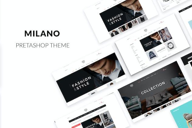 Milano Responsive Prestashop 1.7, 1.6 Theme