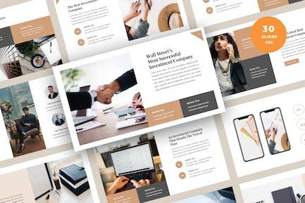 Finance & Investment Presentation Slides Template