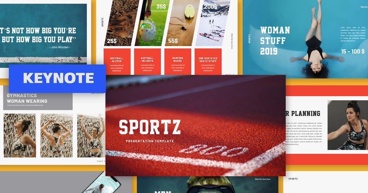 Download SPORTZ Keynote by templatehere