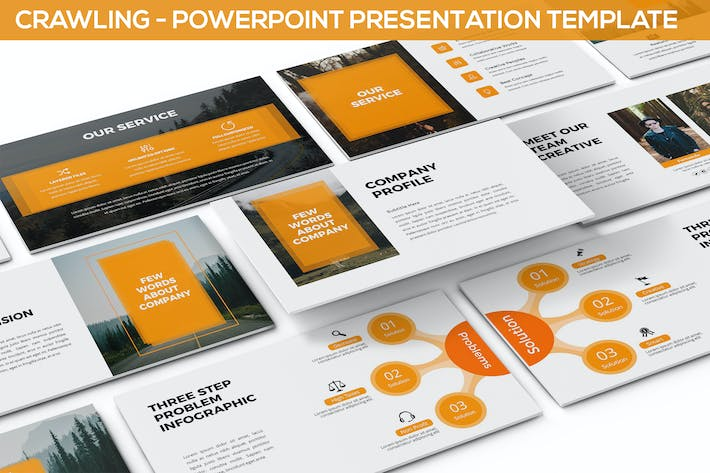 Thumbnail for Crawling - Powerpoint Template