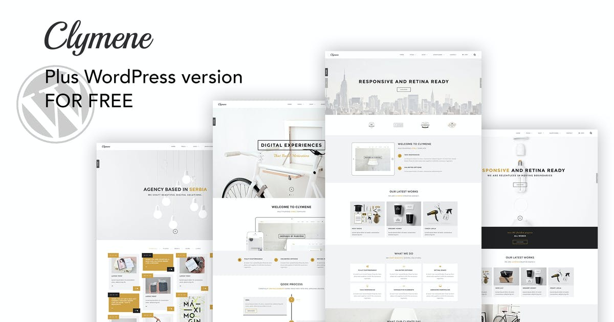 Download Clymene - Creative Multipurpose HTML Template + WP by IG_design