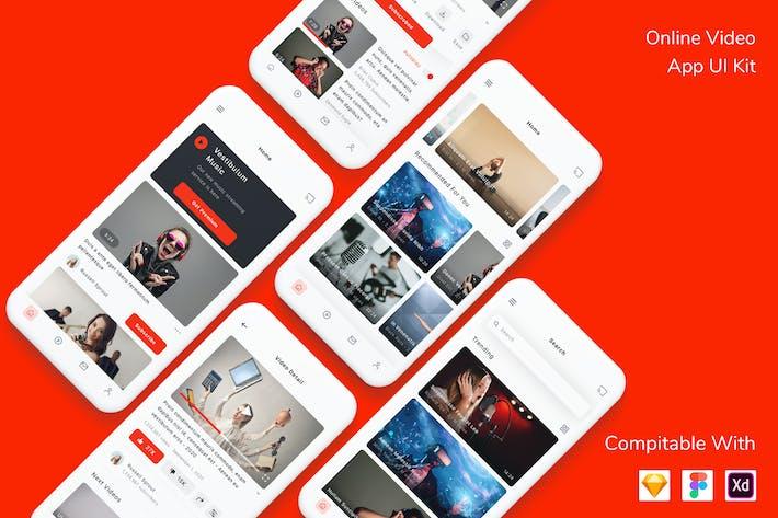 Thumbnail for Online Video App UI Kit