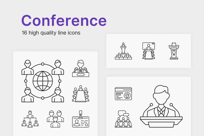 Thumbnail for Conference Icons