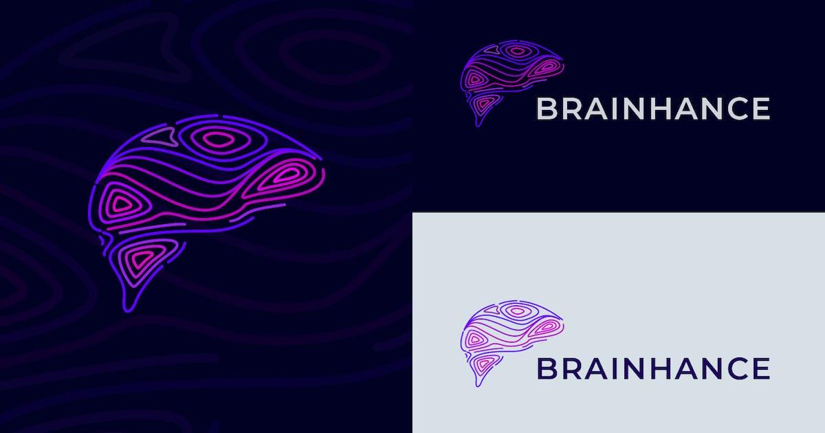 Download Enhanced Brain Logo by Suhandi