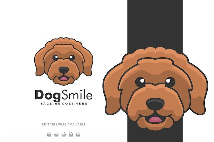 Dog Mascot Cartoon Logo