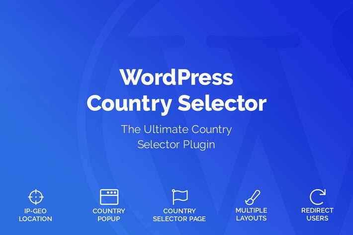 Thumbnail for WordPress Country Selector