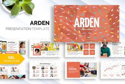 Arden - Business Google Slide Template