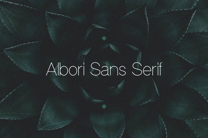 Cover Image For Albori Sans-Serif