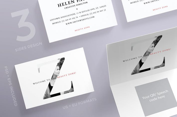 Thumbnail for Beauty Salon Business Card Template