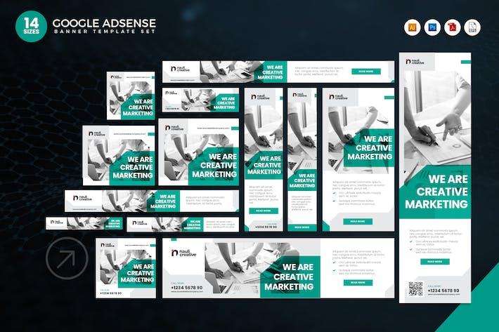 14 Creative Marketing Google Adsense Web Banner