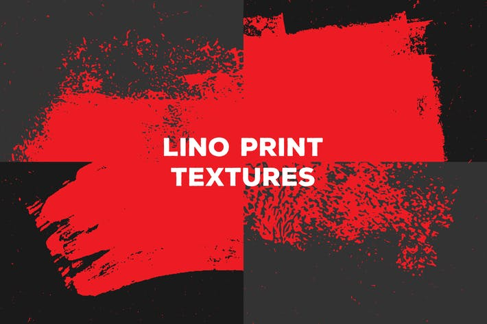 Thumbnail for Lino Print Textures – Paint & Paper