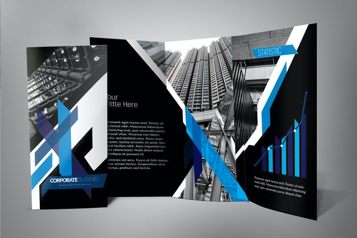 Thumbnail for Modern Architecture Trifold Brochure