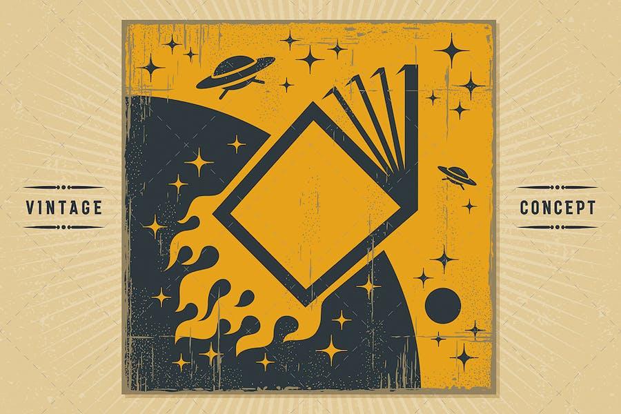 Space Book Concept
