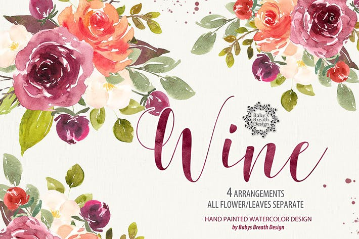 Thumbnail for Wine floral design