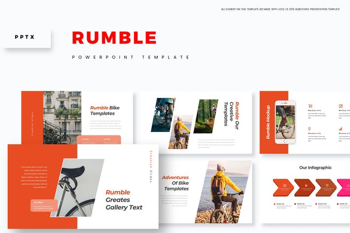 Cover Image For Rumble - Powerpoint Template