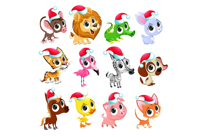 Thumbnail for Christmas Animals