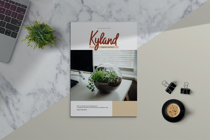Thumbnail for KYLAND - Magazine & Portfolio Template