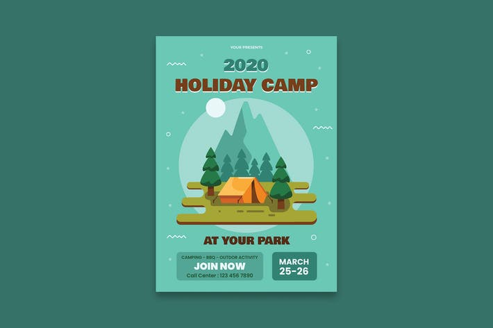 Thumbnail for Holiday Poster