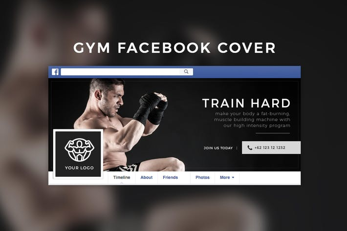 Thumbnail for Gym Facebook Cover