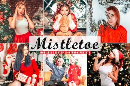 Mistletoe Mobile & Desktop Lightroom Presets