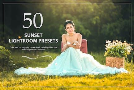 50 Sunset Lightroom Presets