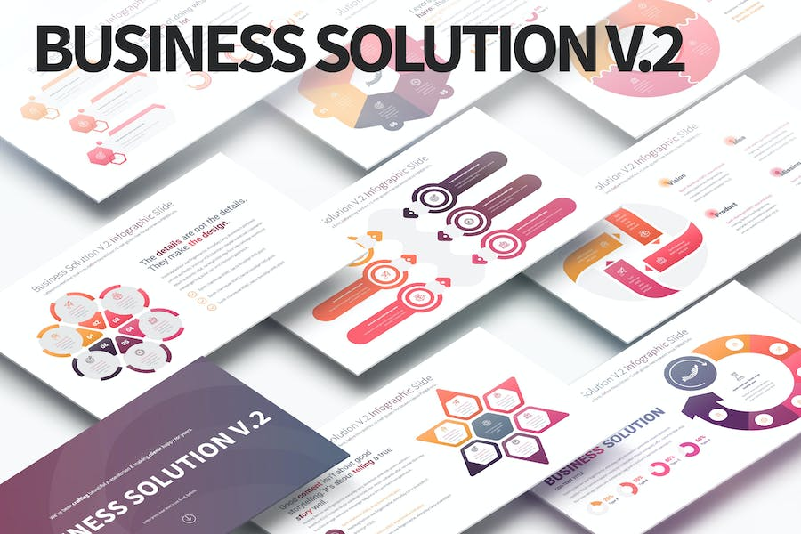 Business Solution V.2 - PowerPoint Infographics