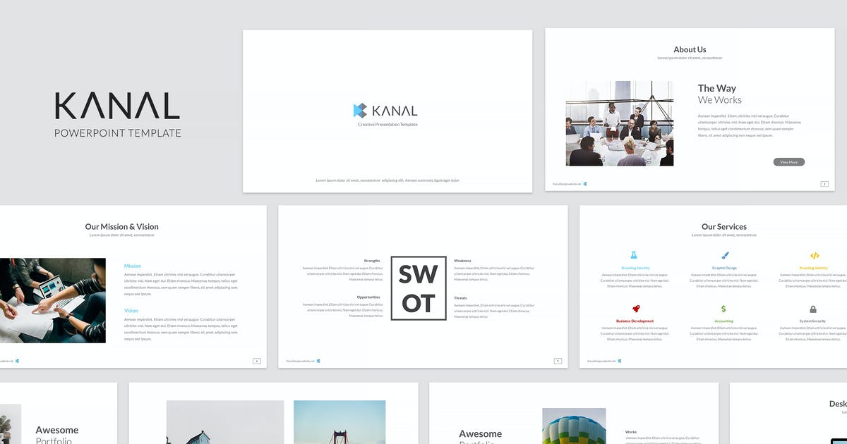 Download Kanal Powerpoint Template by kylyman