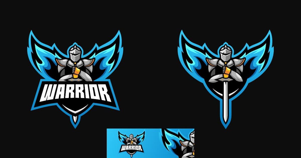 Download Warrior Sports and E-sports Style Logo Template by ivan_artnivora