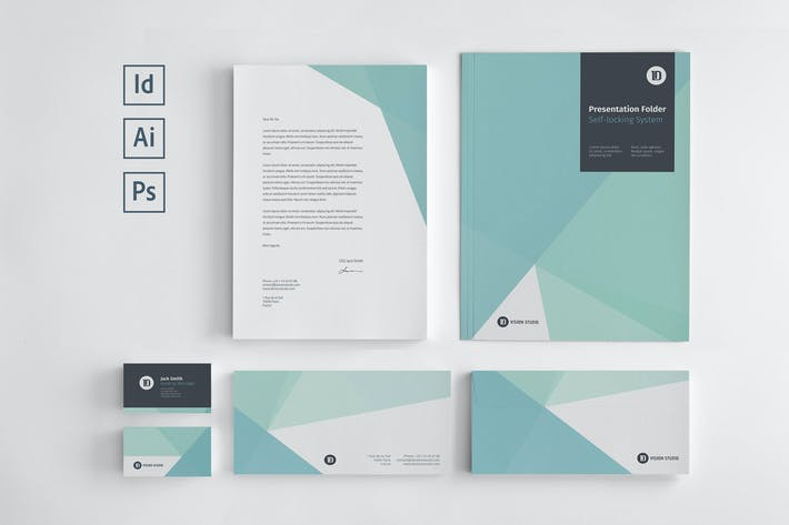 Thumbnail for Stationery Corporate Identity 005