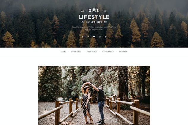 The Lifestyle - WordPress Blog & Portfolio Theme