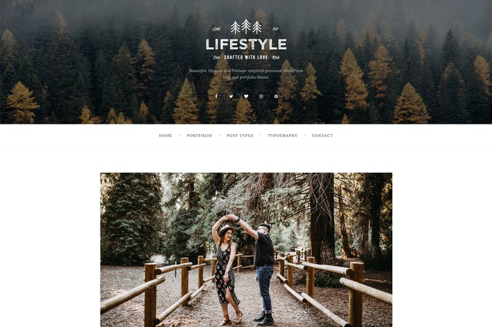 Thumbnail for The Lifestyle - WordPress Blog & Portfolio Theme