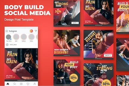 Körper-Insta-Sozial-Media-