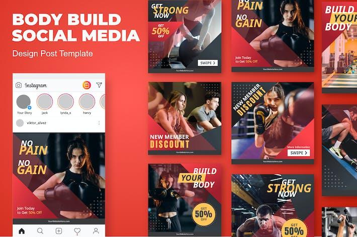 Body Insta Social Media Template