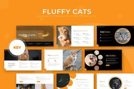 Fluffy Cat - Keynote Template