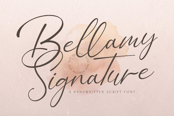 Thumbnail for Bellamy Signature - Handwritten Font