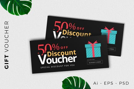 Gift Voucher Card Promotion