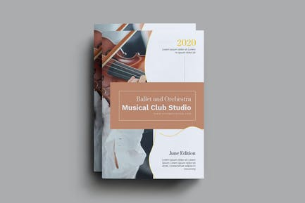 Ballet Studio And Orchestra Brochure