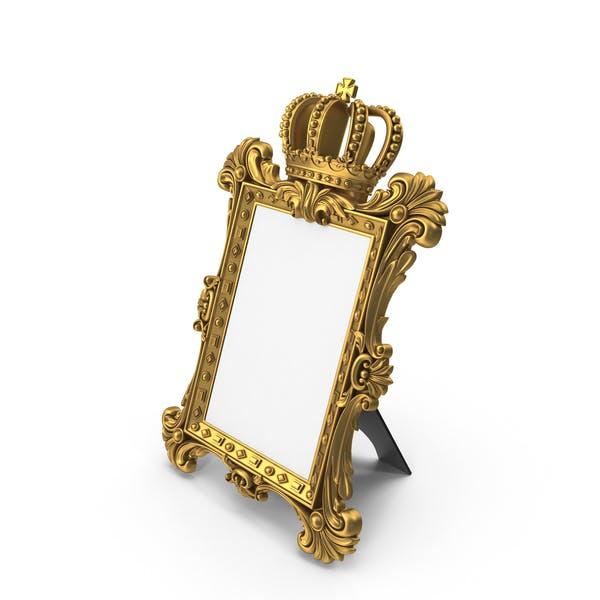 Baroque Crown Photo Frame