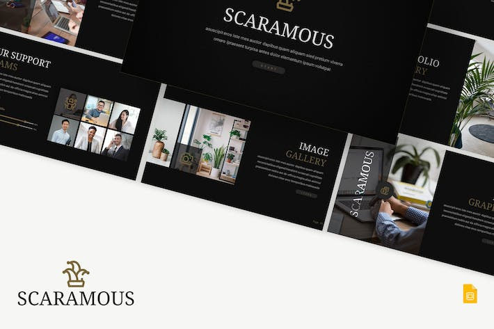 Thumbnail for Scaramous - Business Google Slides Template