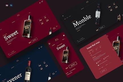 Maywine - Wine store ecommerce template