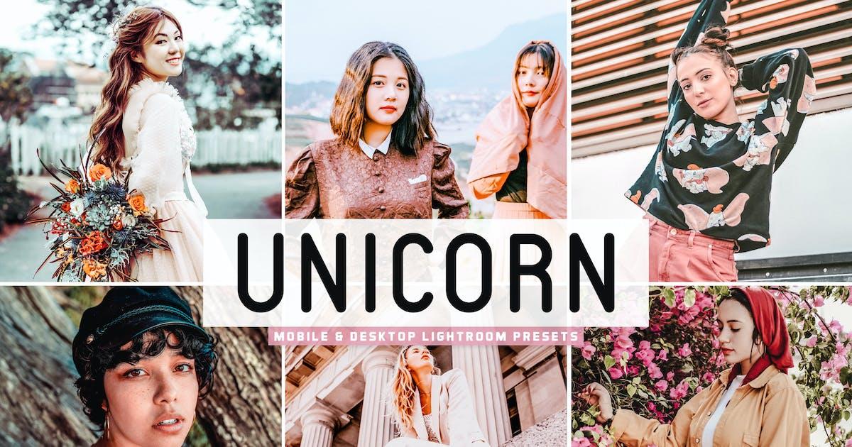 Download Unicorn Mobile & Desktop Lightroom Presets by creativetacos